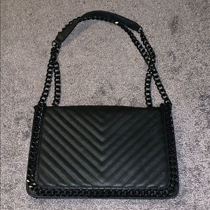 Black ALDO Chanel dupe